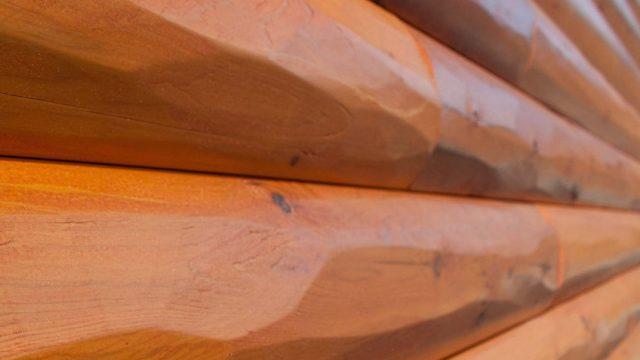 Half Log Siding