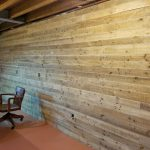 installation of Danish Pine planking 5