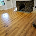 beautiful custom milled white oak hardwood floor 1
