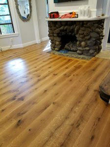 beautiful custom milled white oak hardwood floor 1