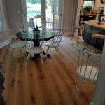 beautiful custom milled white oak hardwood floor 3