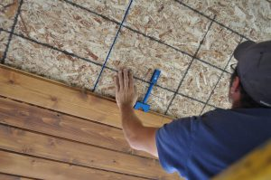 installing a tongue and groove cedar ceiling 3