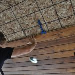 installing a tongue and groove cedar ceiling 4