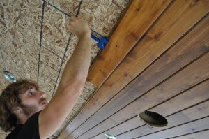 installing a tongue and groove cedar ceiling 6