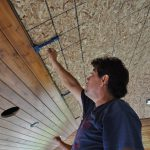 installing a tongue and groove cedar ceiling 8