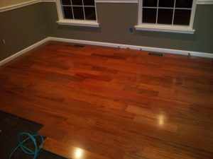 beautiful Brazilian Cherry hardwood flooring 2