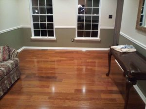 beautiful Brazilian Cherry hardwood flooring 1