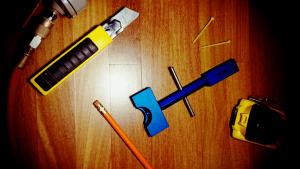 straighten hardwood floors